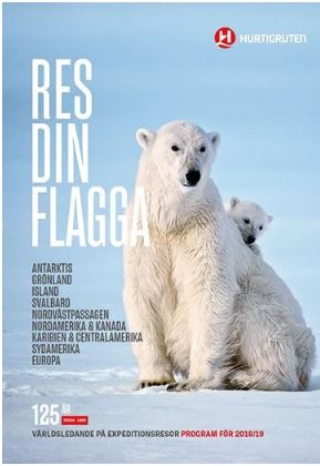 Hurtigruten - Res din flagga