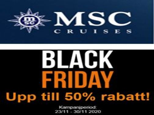 MSC Black Friday